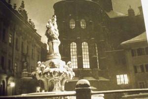 1949_Residenzplatz Passau 1949