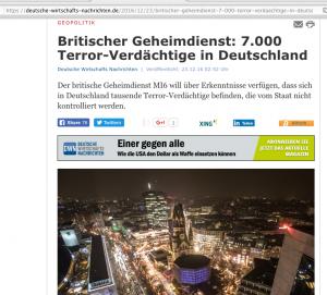 Briti Geheimdienst_über 7000 Terrorverdächtige i BRD  2016-12-23 um 07.08.00