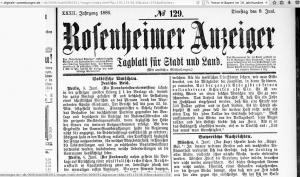 Rosenheimer Anzeiger 1_8.6.1886_Hinweis auf Komplott Prinz Luitpold 2017-02-14 um 10.21.05