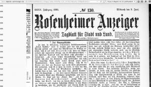 Rosenheimer Anzeiger 3_9.6.1886_Hinweis auf Komplott Prinz Luitpold 2017-02-14 um 10.17.58